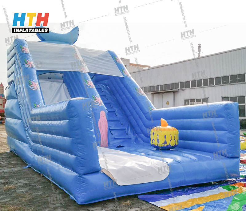 Inflatable Slide color customized for sale