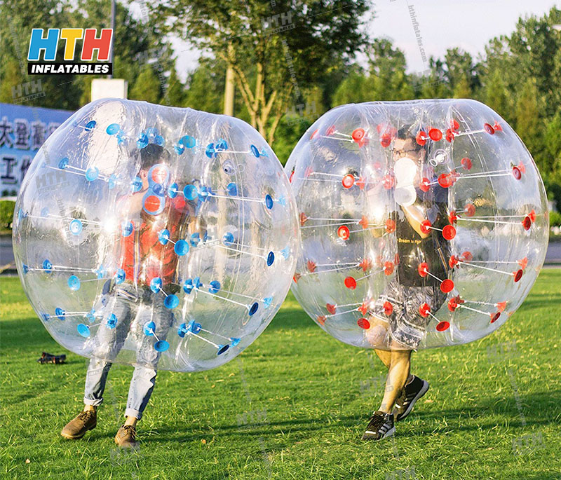Bubble Ball for Football, Inflatable Bumper Bubble Football, Body Zorbing Ball or Bubble Ball