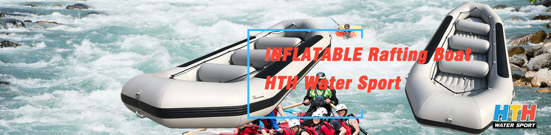 Inflatable Sport-Rafting Boat