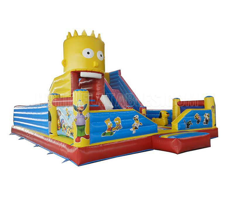 Inflatable Fun City HTH-TP-18101