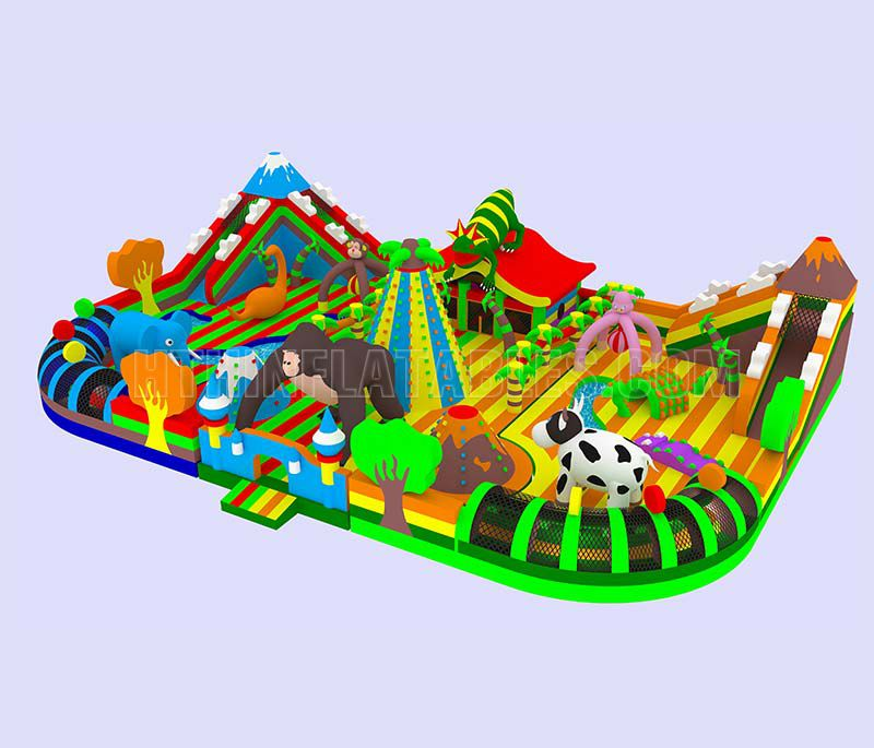 Land of Animals-Inflatable Theme Park 23x16x5.2m