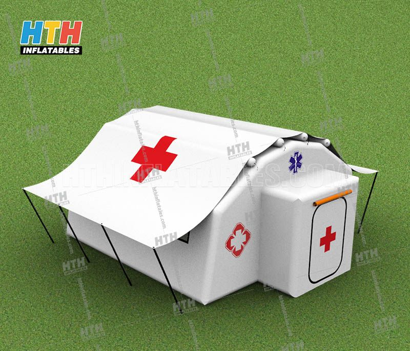 Inflatable tent, inflatable emergency tent, military tent cabin