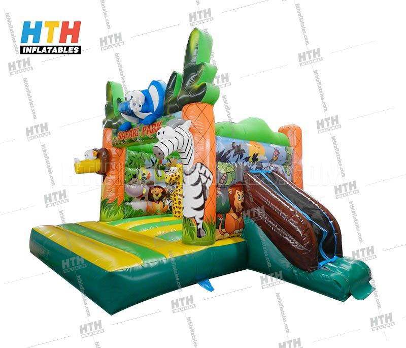 Hot sale Jungle bounce house for party rental