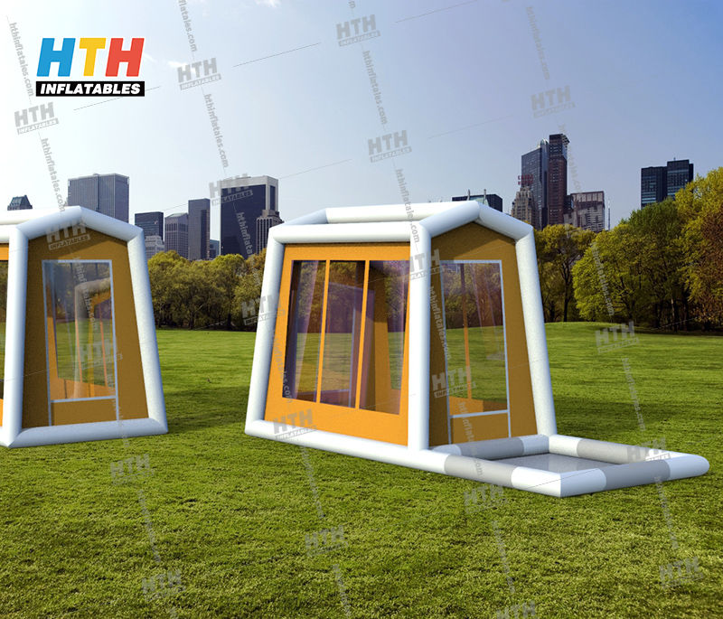 Inflatable Decontamination Quarantine room for person isolation