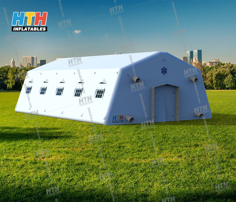 Inflatable shelter for Military actions and medical rescue